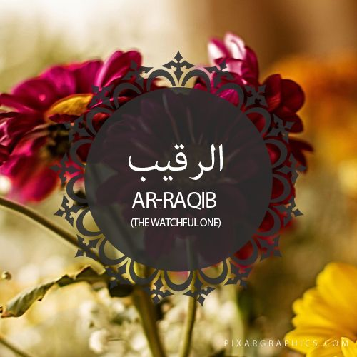 Ar-Raqib,The Watchful One,Islam,Muslim,99 Names