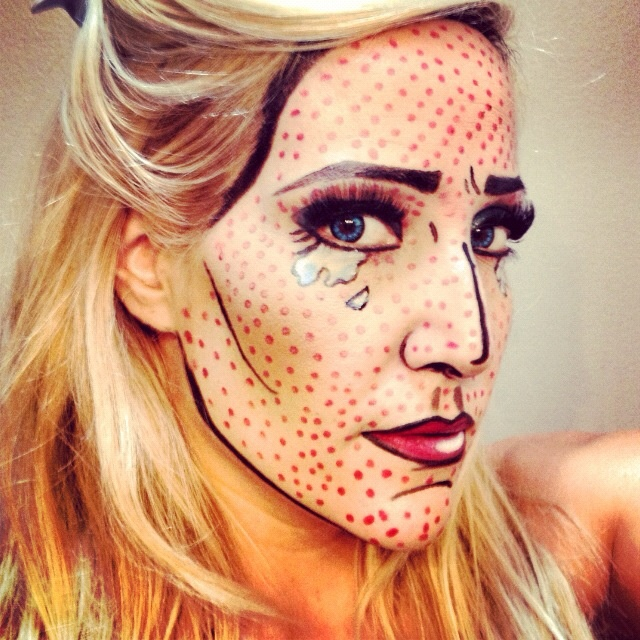 29 best Comic Book & Cartoon Character Makeup images on Pinterest ...