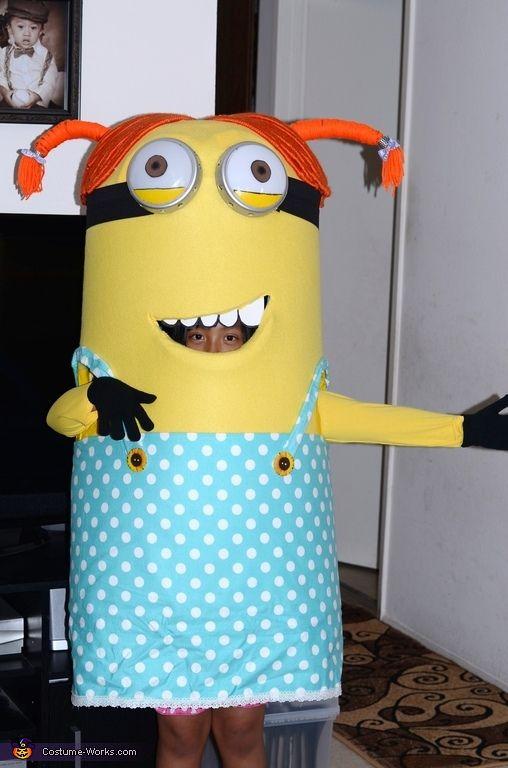 Despicable Me Girl Minion Costume - 2014 Halloween Costume Contest via @costume_works