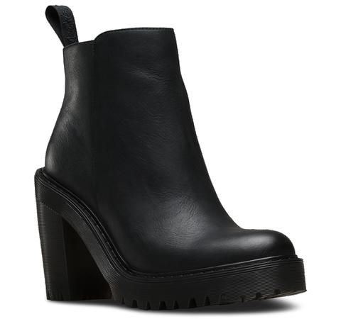 Dr. Martens MAGDALENA Chunky Black Boots. New for AW15.