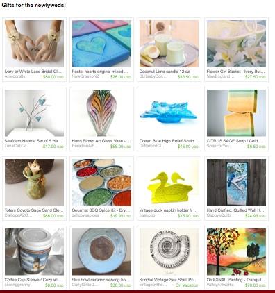 Wedding Gift Ideas! Treasuries Pinterest