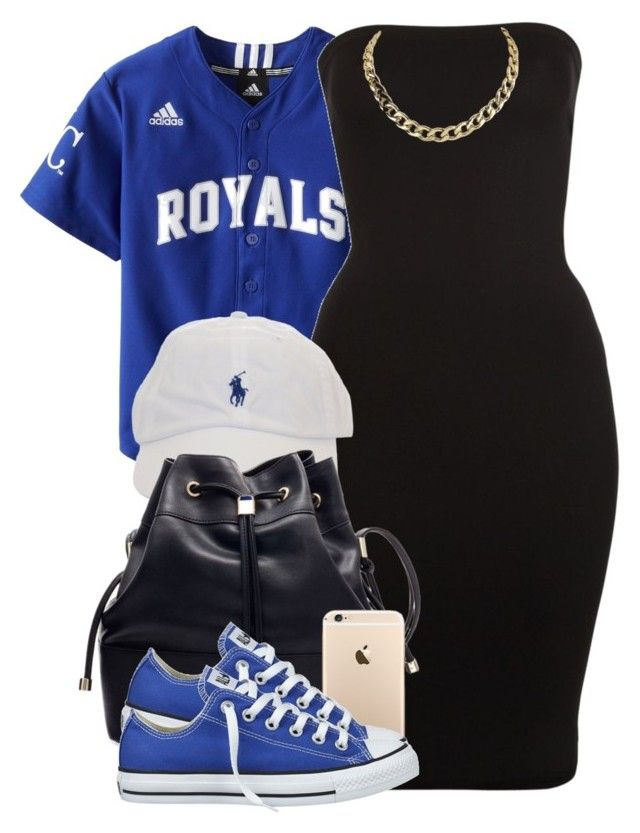 """ROYALS"" by cheerstostyle ❤ liked on Polyvore featuring Wolford and Converse"