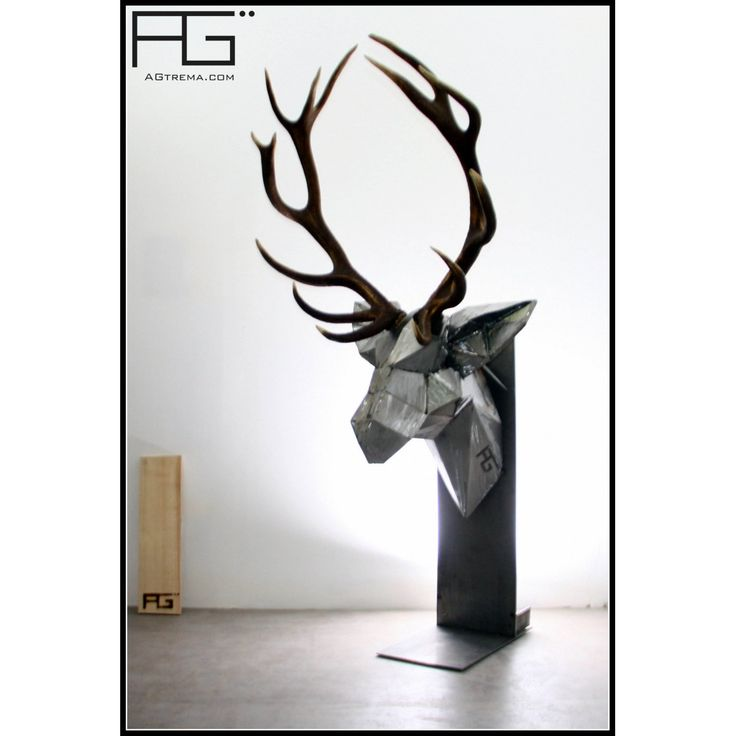 die besten 25 tete de cerf origami ideen auf pinterest. Black Bedroom Furniture Sets. Home Design Ideas