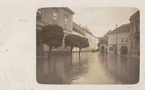 Árvíz Egerben 1913