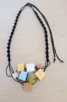 Stämpel Studio — Macramé Surplus Necklace