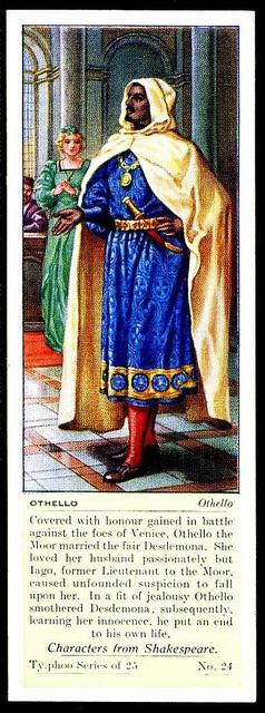 Typhoo Tea Card - Othello by cigcardpix, via Flickr