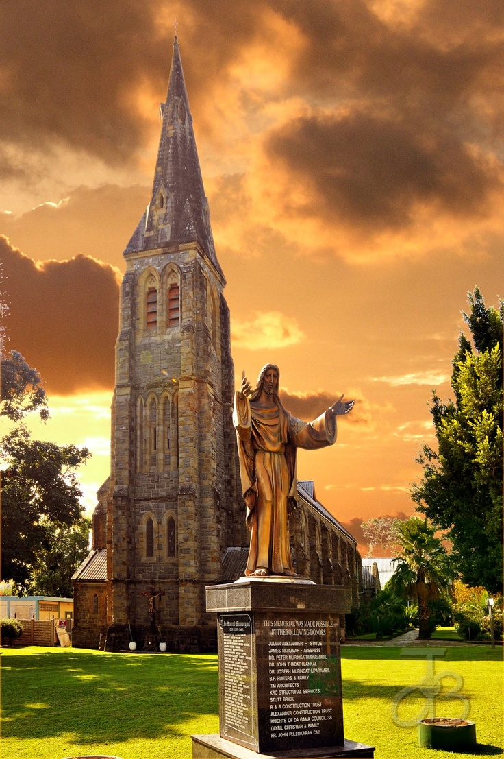 Catholic church of King Williams Town, Eastern Cape, South Africa. By #PhotoJdB