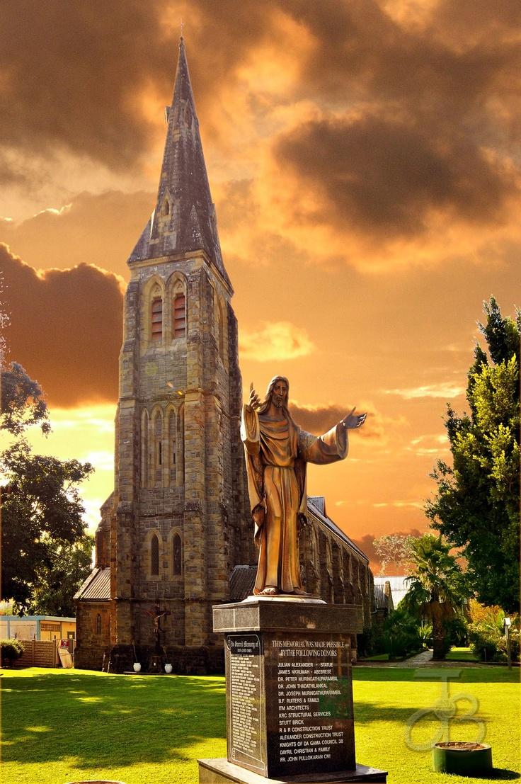 Catholic church of King Williams Town, Eastern Cape.