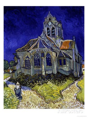 The Church in Auvers-Sur-Oise, c.1890 Giclee Print by Vincent van Gogh at AllPosters.com