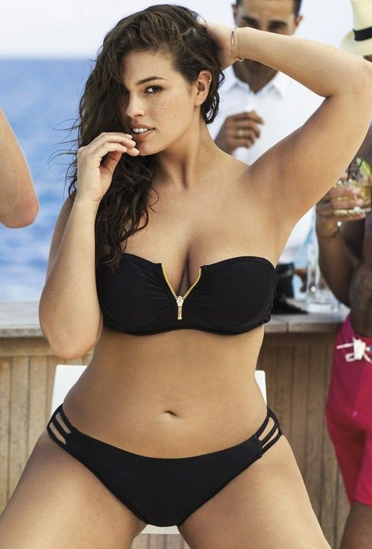 swimsuit illustrated plus size girls | Plus Size Model Ashley Graham Shows Off Curves In The Sports ...