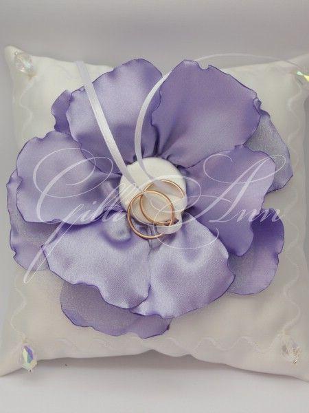 Подушечка для колец Gilliann Viola PIL153, http://www.wedstyle.su/katalog/pillow/podushechka-dlja-kolec-gilliann-violetta, http://www.wedstyle.su/katalog/pillow, ring pillow, wedding pillow