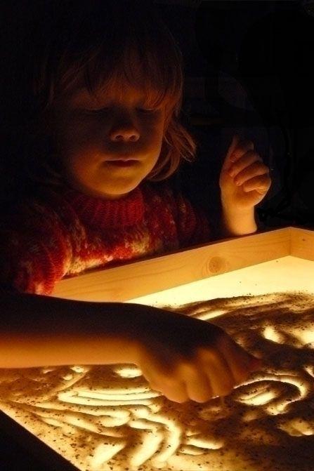 Maak zelf een lichttafel | Kiind Magazine