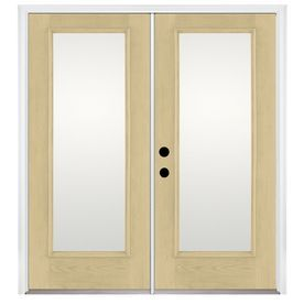 Benchmark By Therma Tru 70.5625 In 1 Lite Glass Fiberglass French Inswing  Patio · Doors OnlinePatio ...