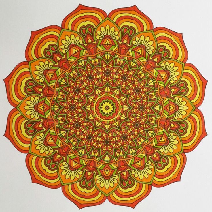 Het tweede enige echte mandala kleurboek