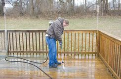 Have your deck looking great with the myriad of solutions brought to you through More Than a Handyman. We offer excellent #deck #cleaning services. Contact us to learn how we can serve you http://www.morethanahandyman.org/deck-cleaning--sealing.html