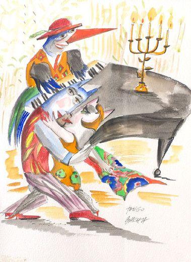 Obraz Tango - Artysta Hanna Bakuła