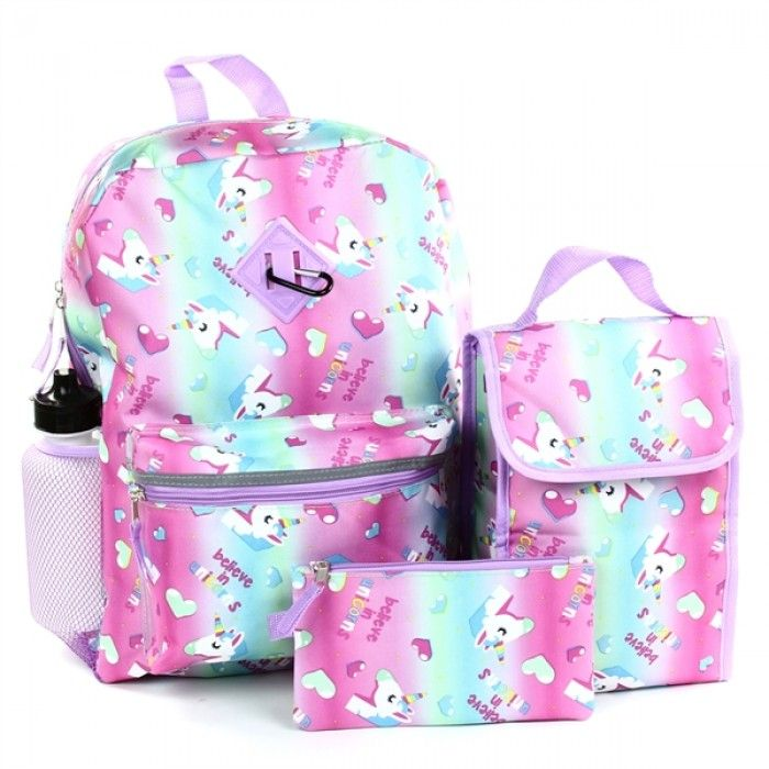 Watermelon Pattern Kid Backpack Childrens Twill Weave School Bag Perfect for School or Travel Schoolbags & Backpacks School Bags, Pencil Cases & Sets