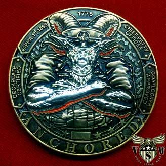 US Navy Chief Anchored Coin $17.99