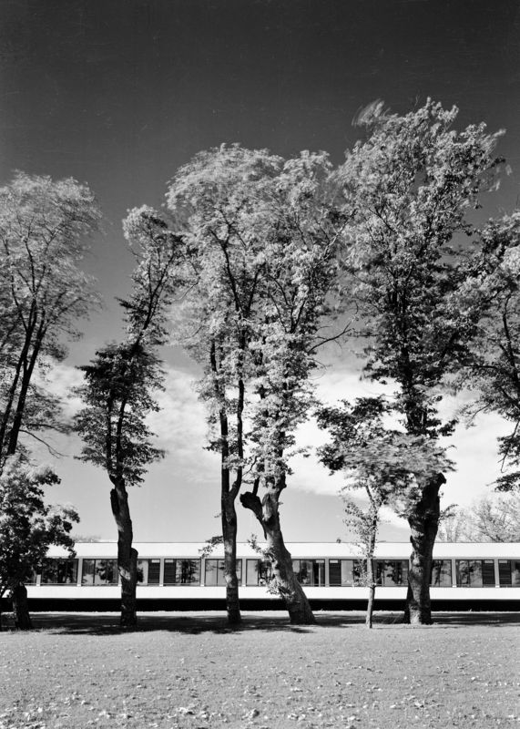 Architecture Photography of Økern retirement home by Teigens Fotoatelier, 1955. DEXTRA Photo, CC BY