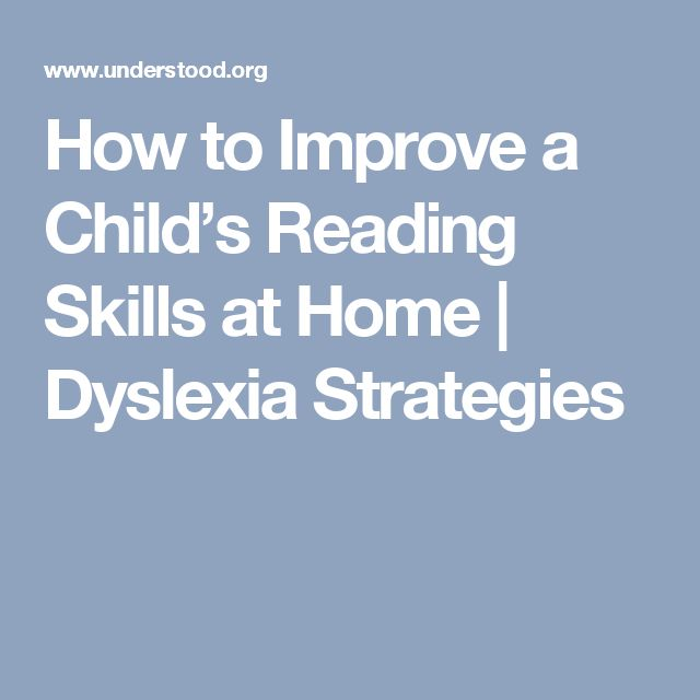how to teach a child with dyslexia at home