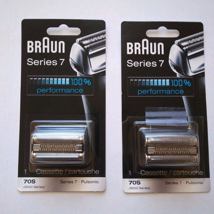 Shaver Parts and Accessories: Braun Series 7 70S Replacement Foil Head Shaver Cutter - New 2 Pack Bonus Bundle -> BUY IT NOW ONLY: $100 on eBay!