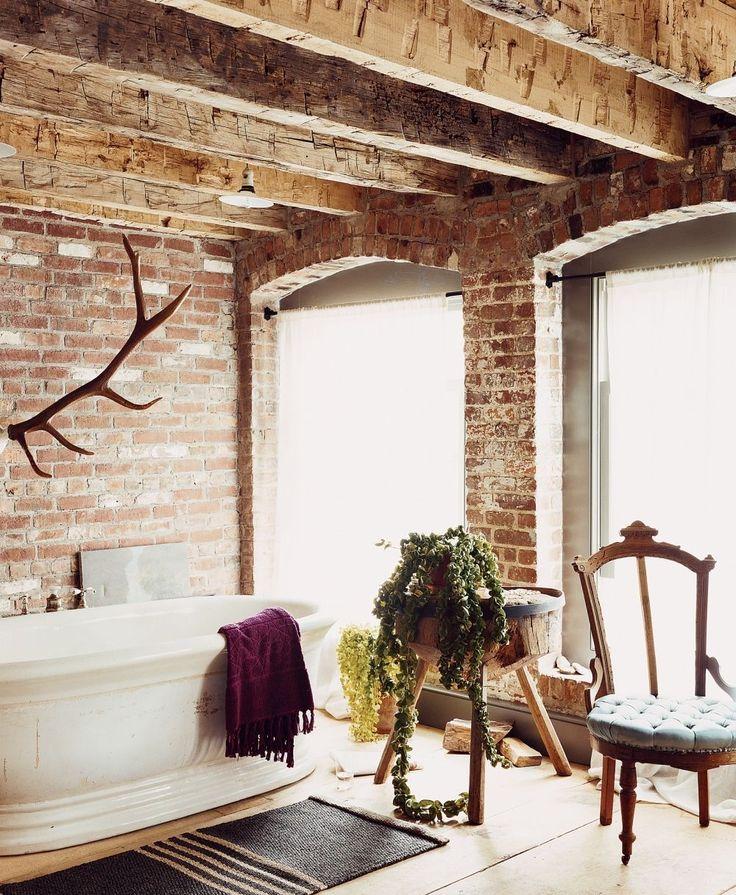 Contemporary Art Websites Elegant Inspiring Rustic Barn Bathroom Design Ideas Chic and Warm Rustic Bathroom with Red brick Wall Decor