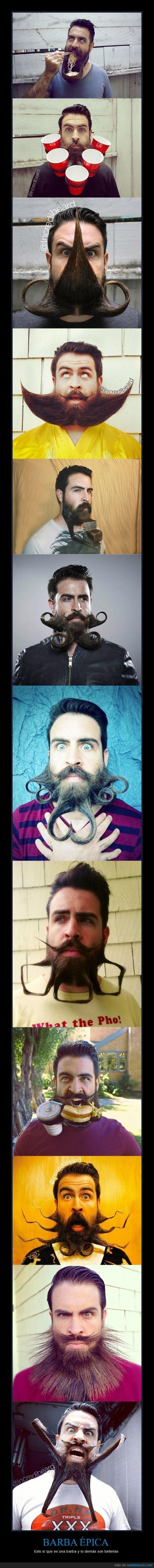BARBA ÉPICA - Esto sí que es una barba y lo demás son tonterías