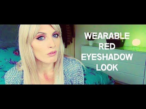 MichelaIsMyName: Wearable Red Eyeshadow Look | MICHELA ismyname ❤️
