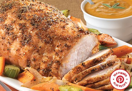 Top Pinned Recipe: Roasted Turkey Breast with Pumpkin Sage Gravy. A ...