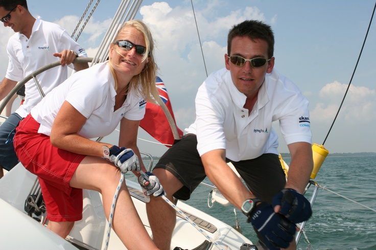 Yachtmaster courses! Flying Fish specialises in professional Yachtmaster and crew training - and if you are looking for work we help you find a job too. We run professional crew and skipper training at two of the world's best sailing locations: Cowes, UK, and Sydney, Australia. http://www.flyingfishonline.com/sports/yachting/default.asp Sailing#