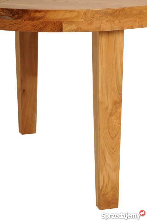 Stół Dębowy Rozkładany Do 3 M Super Jakość 75cm Sprzedam Kuchnia W