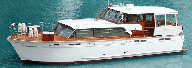 50 Ft. Antique Mahogany Wood 1960 Chris Craft Constellation for sale | Boating | Boat, Chris ...