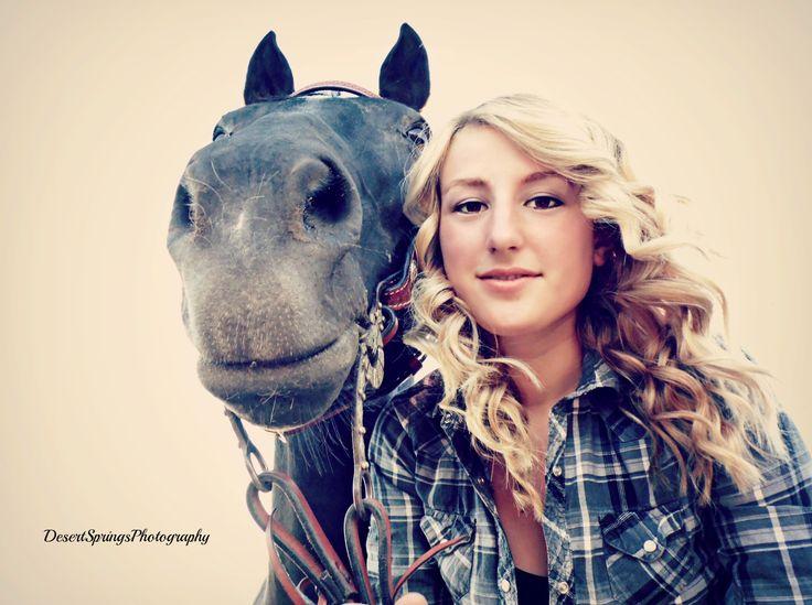 horse  girl photography