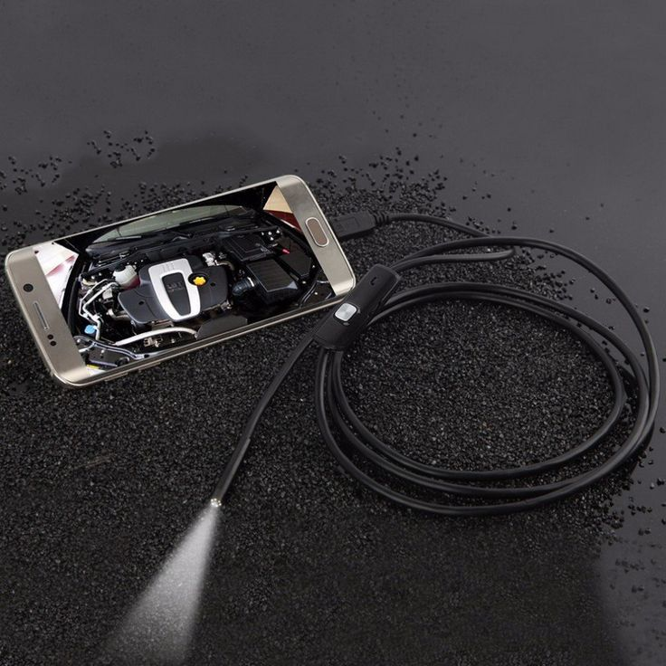 Focus+Camera+Lens+USB+Cable+Waterproof+6+LED+For+Android+Mini+USB+Endoscope+Inspection+Camera
