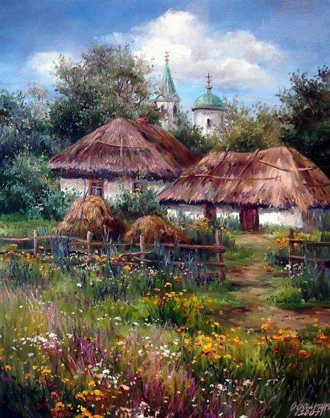 Реальность на холстах украинской художницы (20 работ)