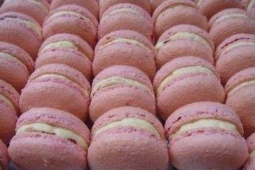 Rose-Flavored Macarons