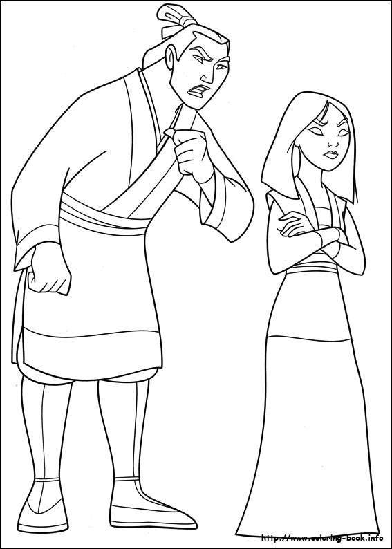84 Mulan Printable Coloring Pages For Kids Find On Book Thousands Of