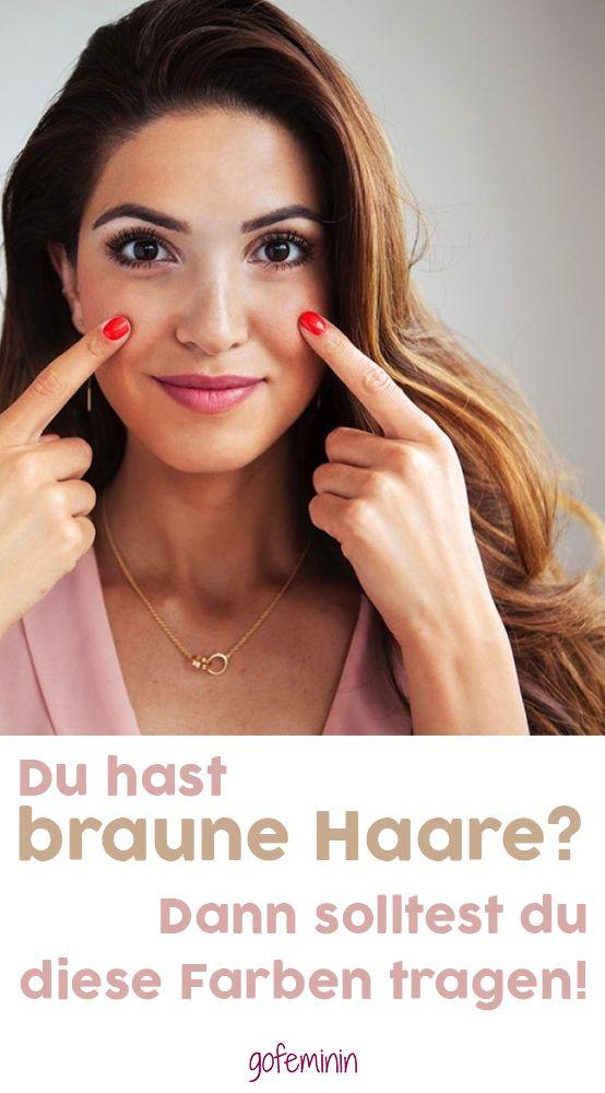 Du hast braune Haare? Dann solltest du öfters DIESE Farben tragen! – gofeminin.de
