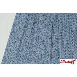 Jacquard Wild Rose Kombi, vintage blue