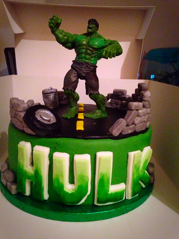 648 Best Images About Cakes Super Heros On Pinterest