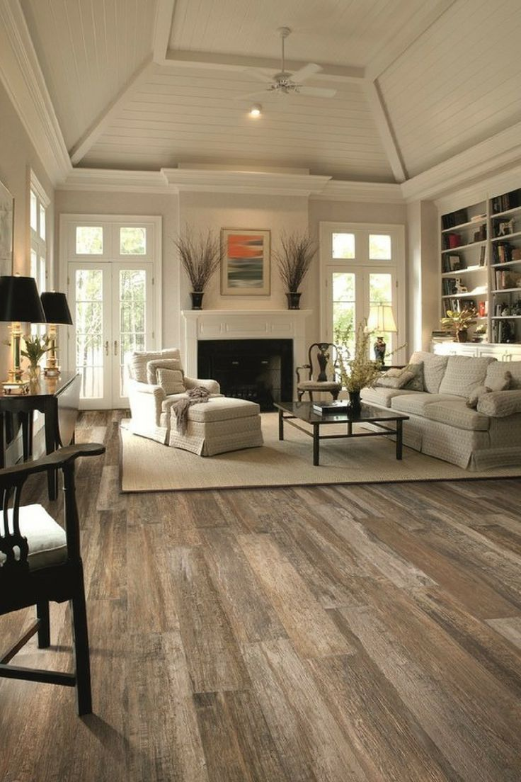 Wood Floor Tiles A Great Flooring Solution For Your Home Interior Design And Home Decorating Modern Farmhouse Living Room Decor Farm House Living Room Farmhouse Decor Living Room