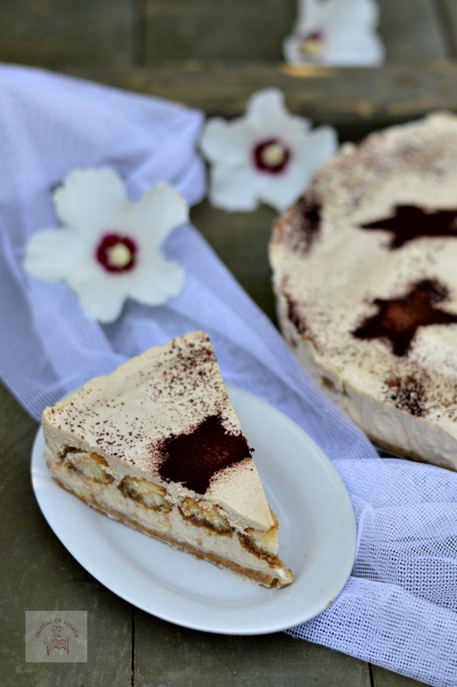 Cheesecake tiramisu - CAIETUL CU RETETE