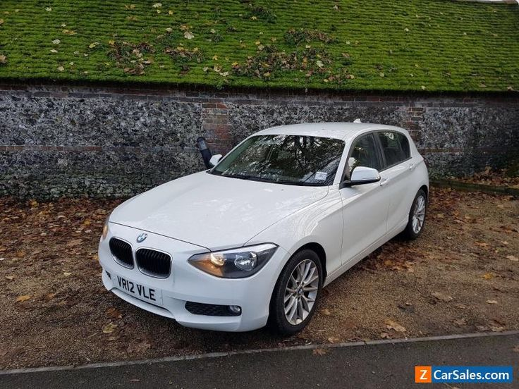 2012 (12) BMW 1 SERIES F20 118D SE WHITE SALVAGE DAMAGED REPAIRABLE #bmw #118 #forsale #unitedkingdom