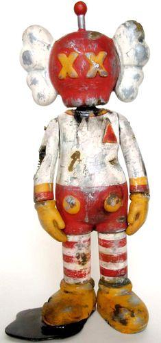 Kaws Spaceman by Betso is a custom Kaws Companion