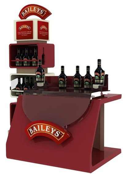 Mueble degustación Baileys