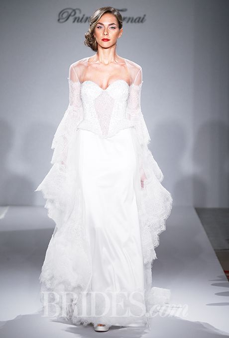 17 best images about pnina tornai on pinterest runway for Kleinfeld wedding dresses with sleeves