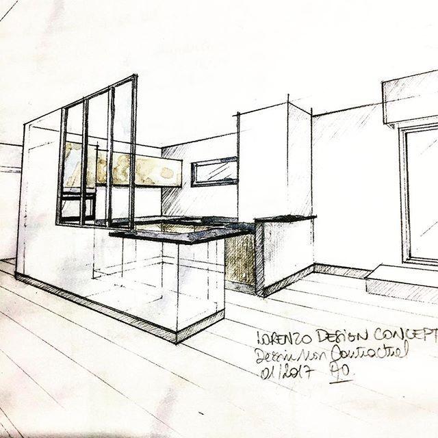 17 meilleures id es propos de croquis de design d for Design d interieur dessin