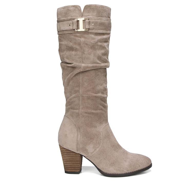 Dr. Scholl's Women's Devote Wide Calf Boots (Putty)