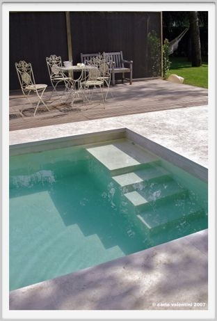 59 Best Images About Inground Pool Steps On Pinterest