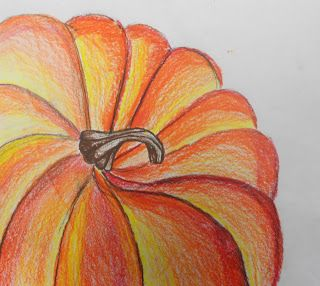 Exploring Art: Elementary Art: 5th Grade Composition Gourds and Pumpkins